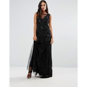 A Star Is Born Embellished Maxi Dress